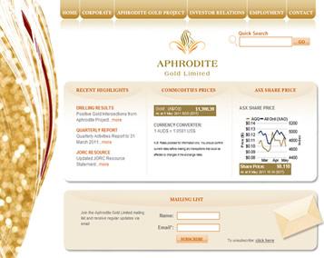 Aphrodite Gold